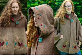 maple_leaf_arran_hooded_cape