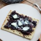 Saint Manu & Caramelized Onion Flat Bread Pizza