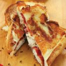 Grilled Holiday Croque Monsieur