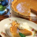 Maple Brandy Squash Pie