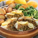 Baked Stuffed Cod