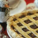 Mincemeat Pie with Rum Sauce