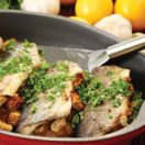 Baked Lemon-Stuffed Trout
