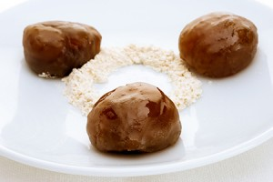 Rum Candied Chestnuts