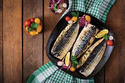 Mackerel Grilled Two Ways