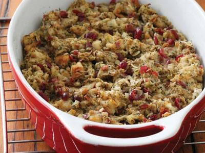 Savoury Cranberry Stuffing