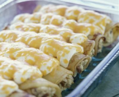Chicken Pancake Rolls