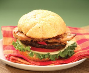 Garlic Lime Barbecued Chicken Sandwich