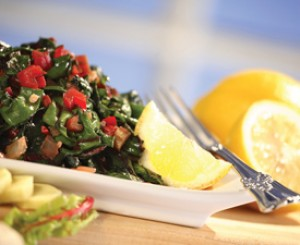Ginger Onion Chard