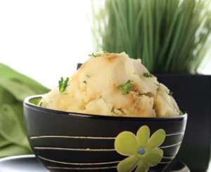 Potatoes Mashed with Golden Brown Onions