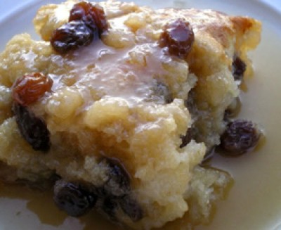 Old-Fashioned Raisin Pudding