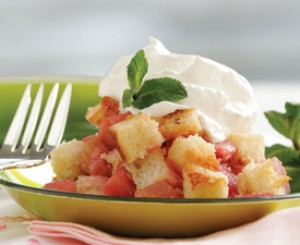 Rhubarb Brown Betty