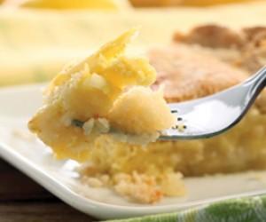 Shaker-Style Sliced Lemon Pie