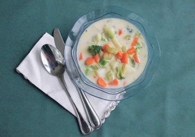 PEI Potato and Vegetable Soup