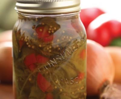 Sweet Beer Pickles