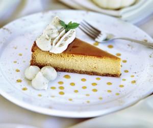 Praline & Pumpkin Cheesecake