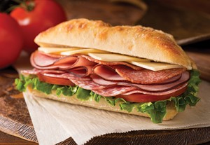 Urban Deli's Authentic Italian Cold Cut Sandwich