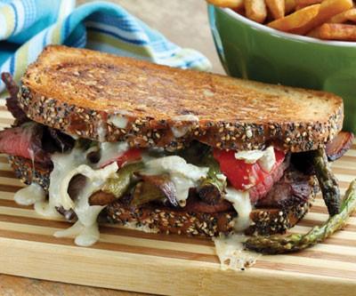 Acadiac & Flank Steak Panini