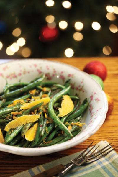 Orange Tarragon Green Beans