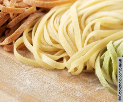 Pasta with Baby Spinach and Faisselle