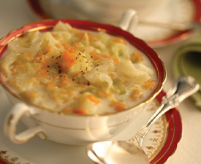 """""""Cream"""" of Cabbage Soup"""