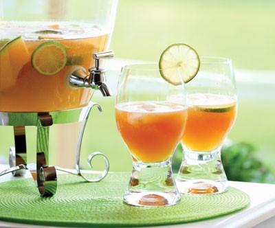 Cantaloupe Maple Lightning Cocktail