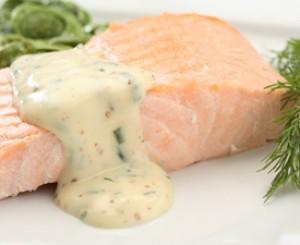 Microwaved Poached Salmon