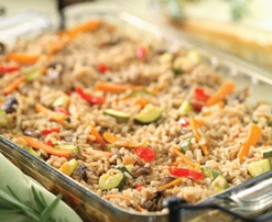 Rice and Veggie Casserole