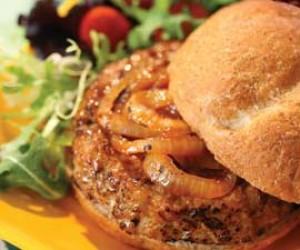 Body Break's Barbecue Turkey Burgers