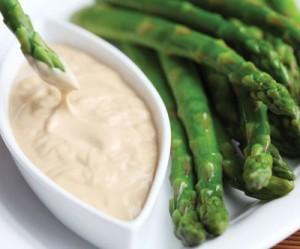Vermeulen Fresh Asparagus with Wasabi-Mayonnaise